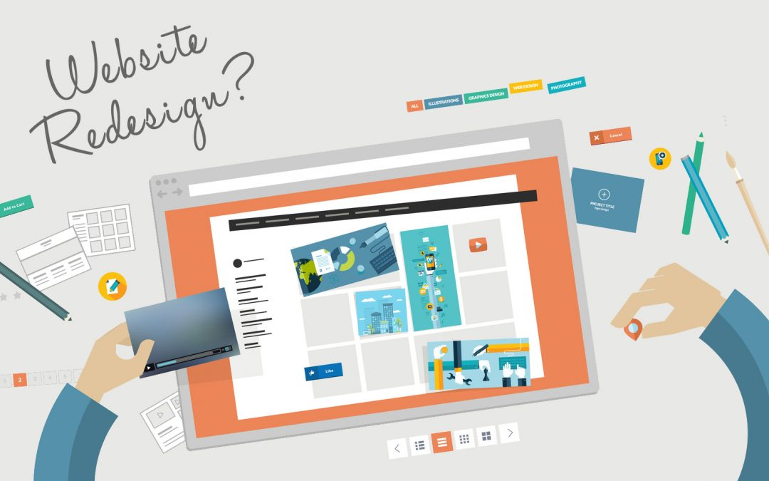 How to know when it's time to redesign your website?