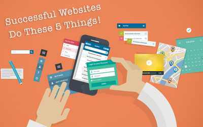 5 Things Successful Business Websites do