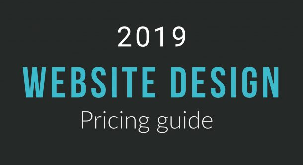 2019 Website Design Price Guide