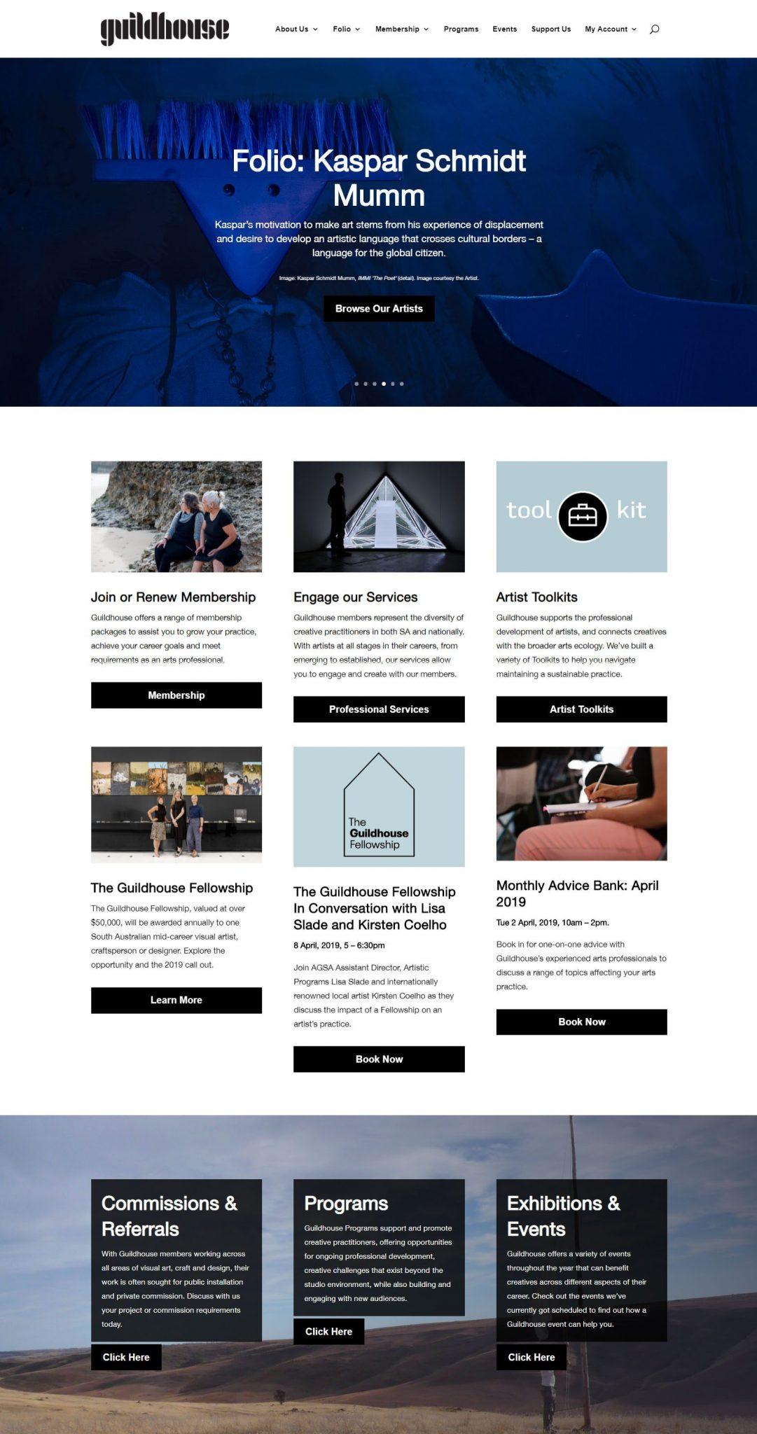 Guildhouse Australia Website